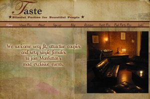 The classiest swinger/sex club to recieve a noise complaint in the FlatIron district. (TastePartiesNYC.com)