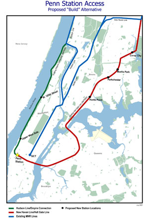 With the LIRR diverting some trains to Grand Central, Penn Station could see Metro-North trains if the MTA goes through with West Side Access.