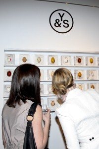 A private viewing of First Open at Christie's, with a silent auction of works from Y&S. (Courtesy Patrick McMullan)