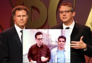 Main: Will Ferrell and Adam McKay/ Insert: Bob Odenkirk and Ben Stiller (Getty Images/The Ben Stiller Show
