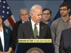 Joe Biden at City Hall. (photo: nyc.gov)