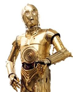 C-3PO, a Star Wars legend. (Photo: Wikipedia)