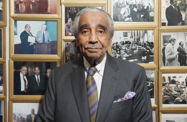 Congressman Charlie Rangel. (Photo: Getty)