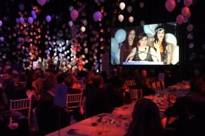 Lena Dunham at the Purim Ball.