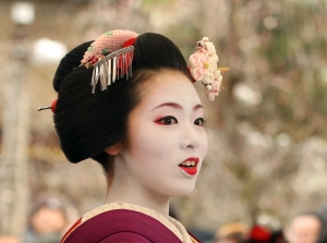 Plum Blossom Festival Takes Place At Kitano Tenmangu Shrine