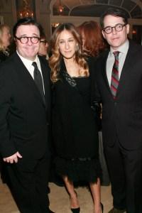 Nathan Lane, Sarah Jessica Parker, Matthew Broderick.