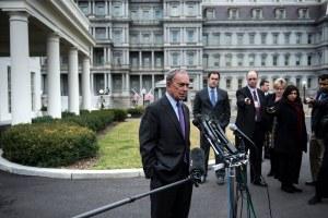 Mayor Bloomberg in Washington this week. (Photo: Getty)