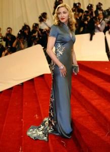 Madonna attends the 'Alexander McQueen: