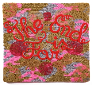 The End is Far by Olek.