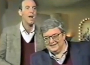 Gene Siskel and Roger Ebert (YouTube)