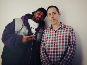 Mr. Porter and Ghostface Killah (Photo: Twitter)