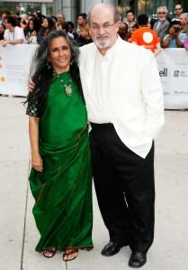 Deepa Mehta and Salman Rushdie.