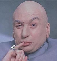 Dr. Evil (Photo: Wikipedia)