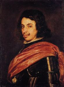 Velázquez's 1638 portrait of Duke Francesco I d'Este. (Wikimedia)