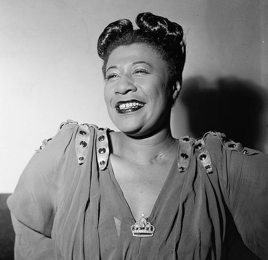 Ella Fitzgerald, circa 1946. (Photo by William P. Gottlieb)