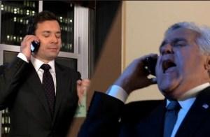 Jimmy Fallon and Jay Leno (NBC)