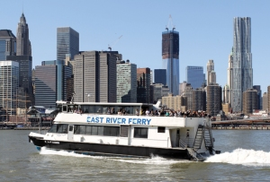 Ferry rides are scenic, but there's a reason that New York started replacing them with subways in the 19th century.