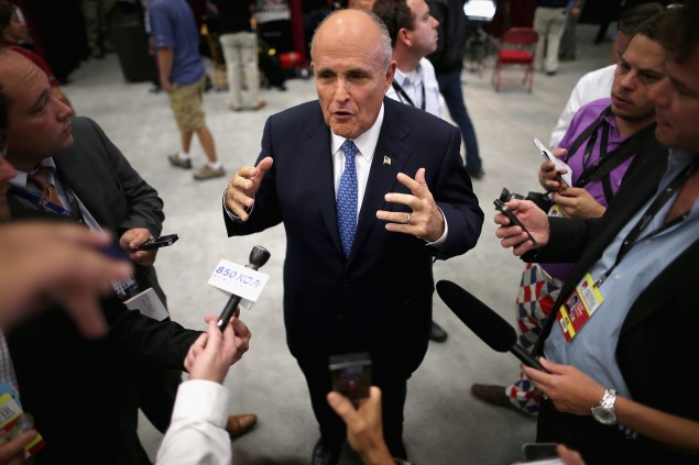Former Mayor Rudy Giuliani in 2012. (Photo: Chip Somodevilla/Getty Images)