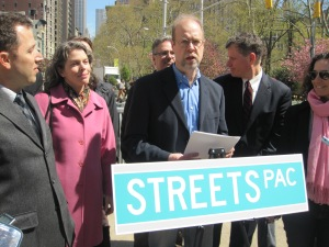StreetPAC formally launched its efforts Thursday. (Photo: Jill Colvin)