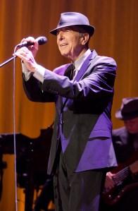 Leonard Cohen. (Photo by Mike Lawrie/Getty Images)