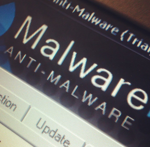 Malware selfie. (Photo: Hahsgram)