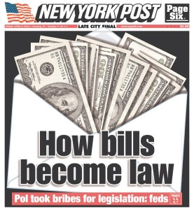 Today's New York Post Cover
