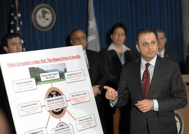 U.S. Attorney Preet Bharara. (Photo: Stan Honda for AFP/Getty Images)