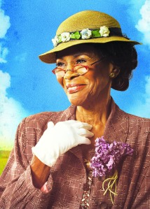 Cicely Tyson plays Carrie Watts in The Trip to Brountiful.