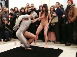 Rosenberg's performance at Martos. (Courtesy Stefan Roemer)
