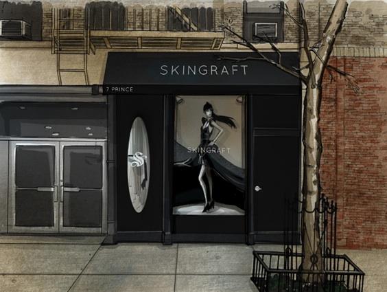 Skingraft, Manhattan's latest, horribly-named boutique. (MAO PR)