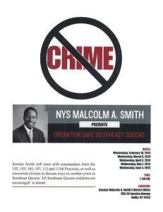 Queens Senator Malcolm Smith, who is accused of corruption, tweeted this. (Photo: Twitter)