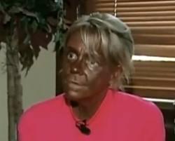 Tan Mom looking toasty.