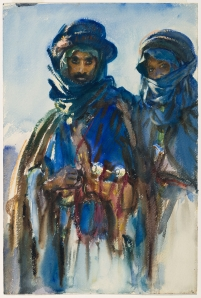 'Bedouins' (circa 1905–6) by Sargent. (Courtesy Brooklyn Museum)