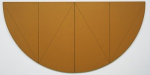 '1/2 W Series' (1968), in the collection of MoMA. (© Robert Mangold)