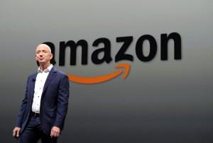 Jeff Bezos, Amazon CEO. (Courtesy Getty Images)