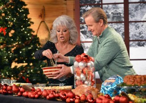 Deen and Steve Doocy on the 2012 'Fox and Friends' Christmas Special. (Getty Images)