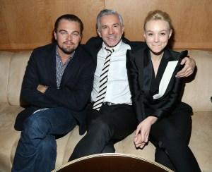 Leonardo DiCaprio, Baz Luhrmann and Carey Mulligan.