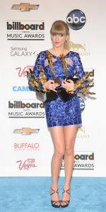 Swift at the 2013 Billboard Music Awards. (Robyn Beck/AFP/Getty Images)