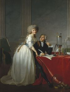 Jacques-Louis David, 'Antoine-Laurent Lavoisier  and His Wife,' 1788.
