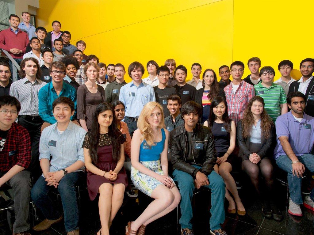 All 2013 finalists. (Photo: Thiel Foundation)