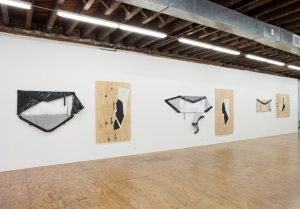 Installation view of 'Steh Pirce.' (Courtesy Reena Spaulings)