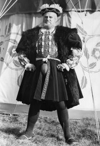 Actor Keith Mitchell as Henry VIII in 1971. (Central Press/Getty Images)