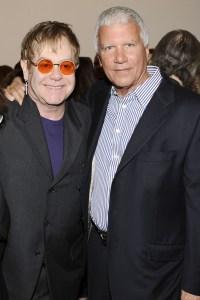 Sir Elton John and Gagosian. (Courtesy PMC)