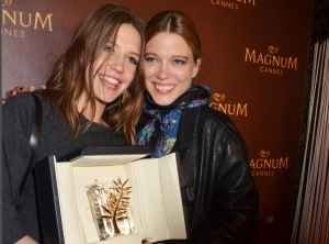 Adèle Exarchopoulos and Lea Seydoux (Getty Images)