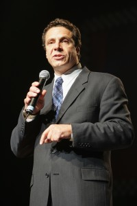 """Andrew Cuomo at the 2004 """"Playstation 2 And The Hip-Hop Summit"""" (Photo: Getty)"""