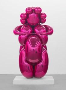 'Balloon Venus (Magenta), ' 2008–12. (© Jeff Koons/Gagosian)