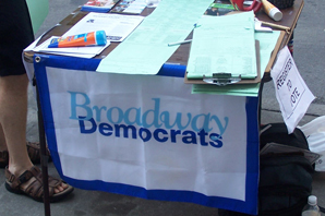 The Broadway Democrats. (Photo: broadwaydemocrats.org)