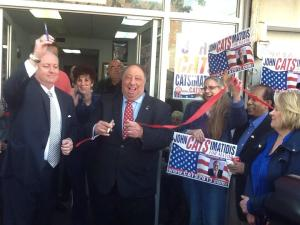 John Catsimatidis opening his new Brooklyn campaign office Wednesday. (Photo: twitter/JCats2013)