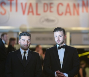 Oscar Isaac, left, and Justin Timberlake star in Joel and Ethan Coen's latest flick, Inside Llewyn Davis. (Getty Images)