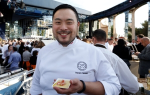 Even if we knew where David Chang partied, we wouldn't tell.